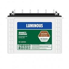 Luminous Sc12054, 110ah Battery 54 Months Warranty (White)