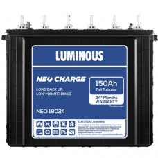 Luminous Inverter Battery NEO 18024 (150Ah) Tall Tubular Battery