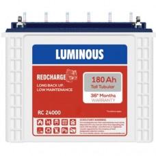 Luminous Inverter Battery RC 24000 (180Ah) Tall Tubular Battery