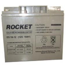ROCKET ES 12V, 18Ah SMF VRLA Battery