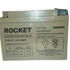 Rocket ES 26-12 SMF Battery ( 12V 26AH )