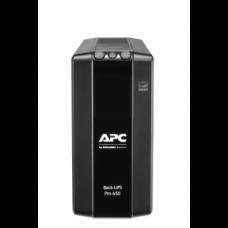 Back UPS Pro BR 650VA, 6 Outlets, AVR, LCD Interface
