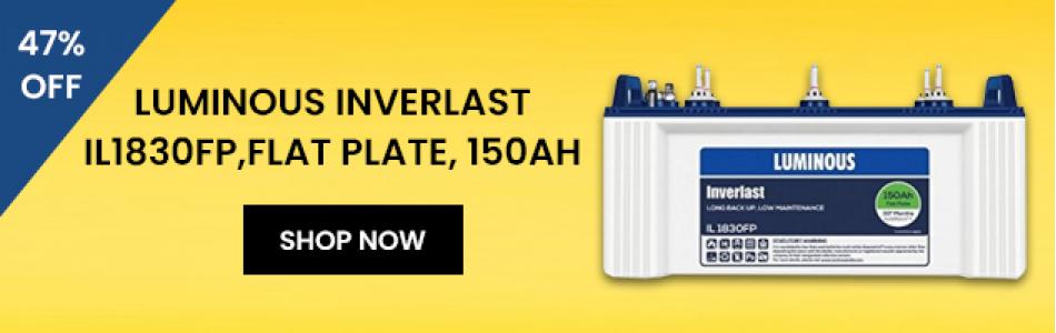 luminous ups inverter battery